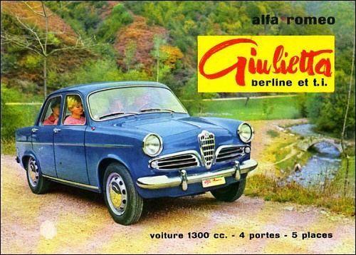 Alfa Romeo Giulietta - brochure