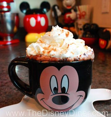 The Disney Diner: World's Best Hot Chocolate Recipe (and video) from Napa Rose (Disneyland)