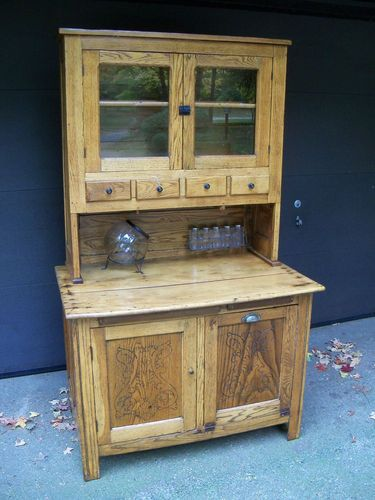 1000 Images About Hoosier Cabinets On Pinterest Vintage Kitchen Cabinets And Vintage Kitchen