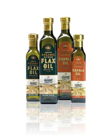 A variety of oils from Highwood Crossing Foods Ltd.