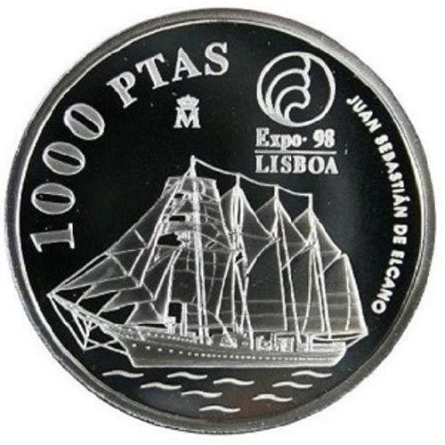 1000 Pesetas 1998 Expo 98 Juan Sebastián de Elcano. Sin Estuche.
