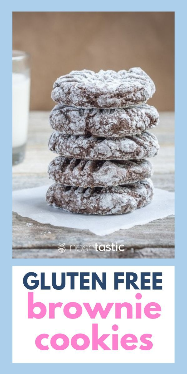 Gf Brownie Cookies Gluten Free Brownies Gluten Free Sweets