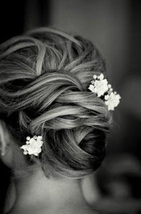 Great wedding hair