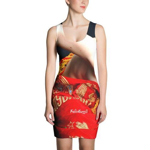 DA067 Sublimation Cut & Sew Dress - Wrap Around - Made in USA