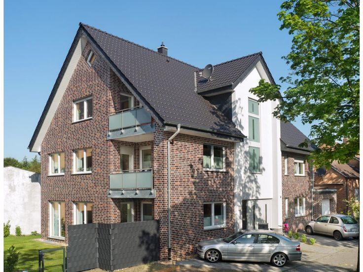 Verblender / Klinker Verblender K116 / Klinker / Fassade / blau geflammt