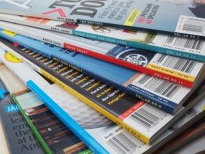 Get paid to write articles for magazines