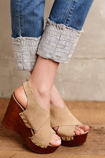 AG Stevie Embroidered Cuff Jeans - anthropologie.com