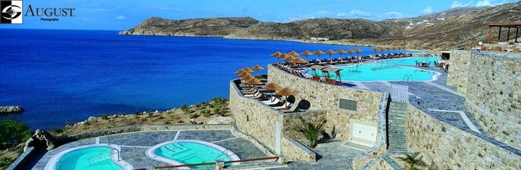 MYCONIAN IMPERIAL HOTEL & THALASSO SPA CENTER.....Ons hotel in Mykonos 👌