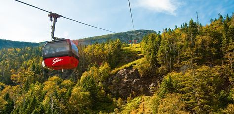 Take the easy way up in the famous Stowe gondola. Spectacular views await you near the peak of Vermont's highest mountain. From the top of the gondola skyride, access hiking trails, the Summit retail gift shop or enjoy lunch at the Cliff House Restaurant.