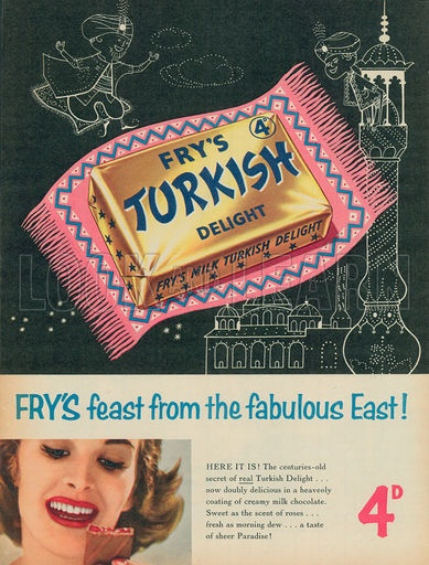 Turkish Delight advert from 1957. | Vintage Adverts ...