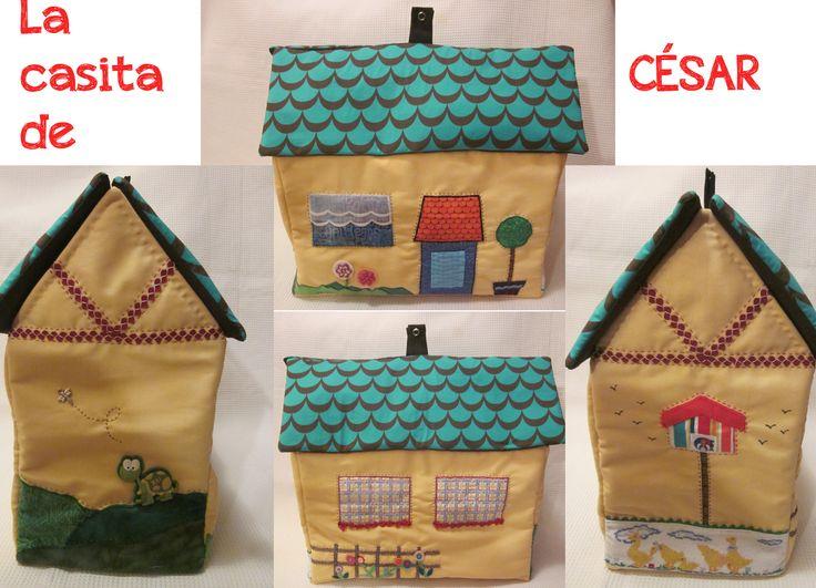 DIY Diaper House / Tutorial: La casita pañalera de César