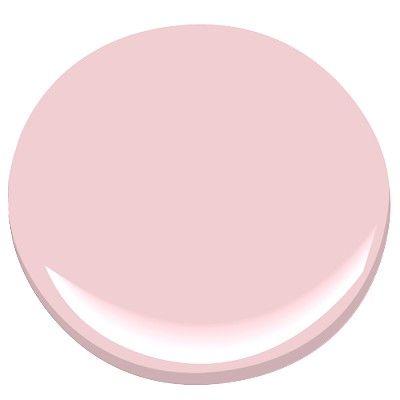 Benjamin Moore Pink Pearl 2005-60  Dining Room ceiling