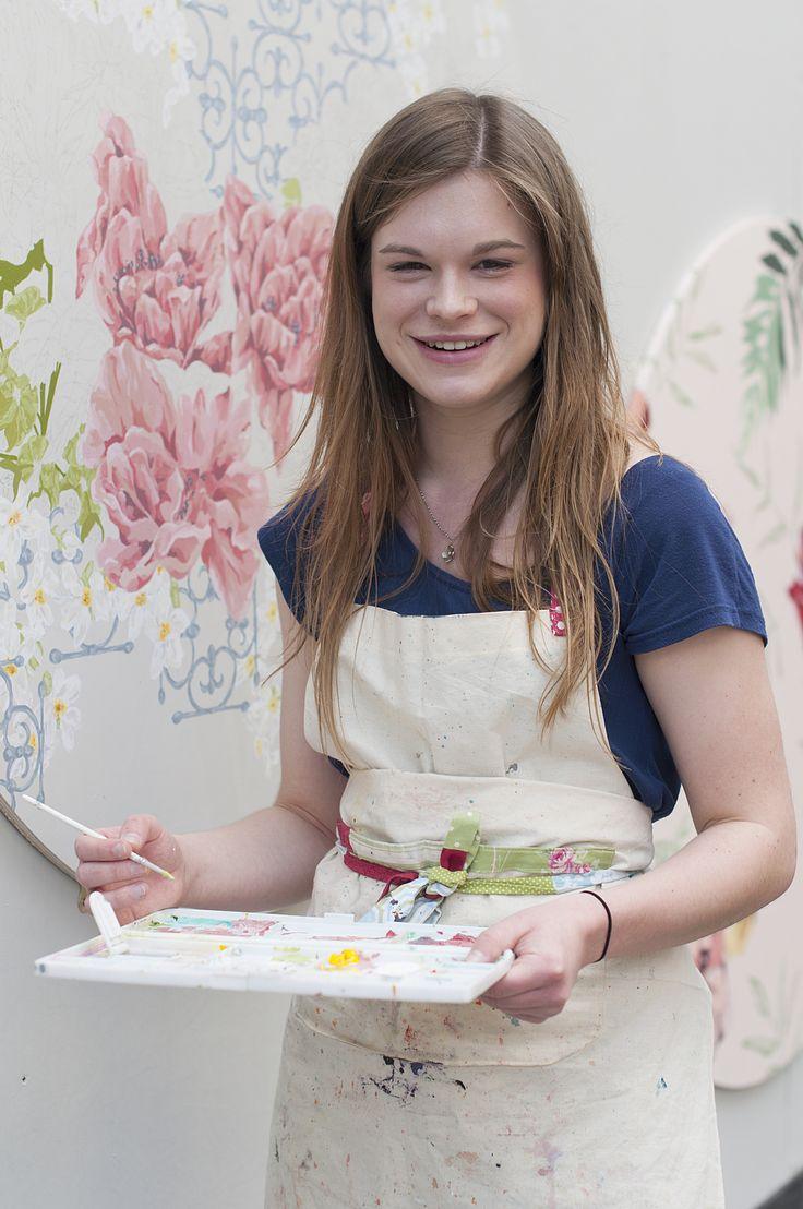Chloe painting