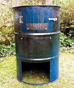 build a barrel stove