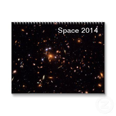 Space 2014 wall calendar