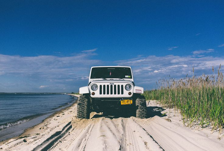 I'm so excited to have the Wrangler in Pensacola!!! Beach day!