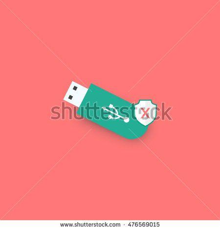 USB icons