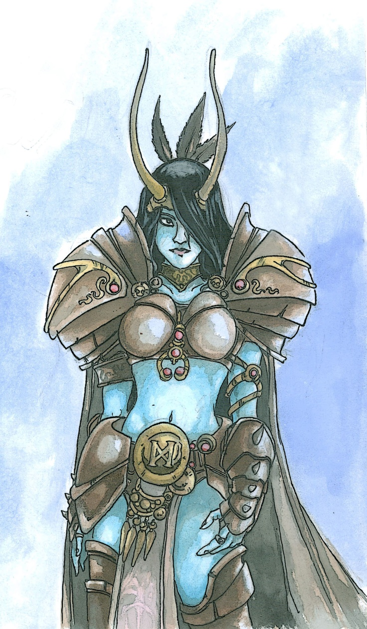 Frost Giant Sorceress
