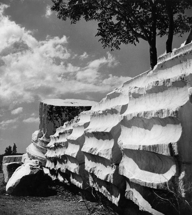 Herbert LIST :: Temple of Olympian Zeus / Athens, Greece, 1937