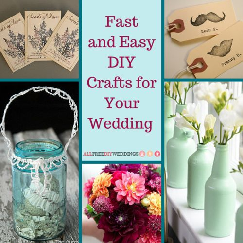 17 best images about diy wedding crafts on pinterest for Wedding crafts to make and sell