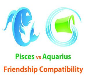 Pisces and Aquarius Friendship Compatibility