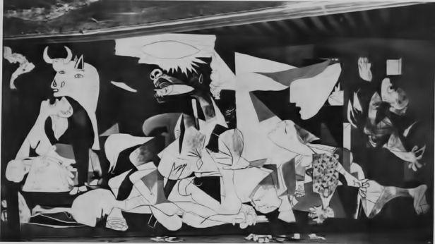 Guernica - Picasso - Fase 4