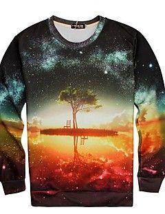 go-gutten menns mote 3d trykt kreativ topp t-skjorte – NOK kr. 148