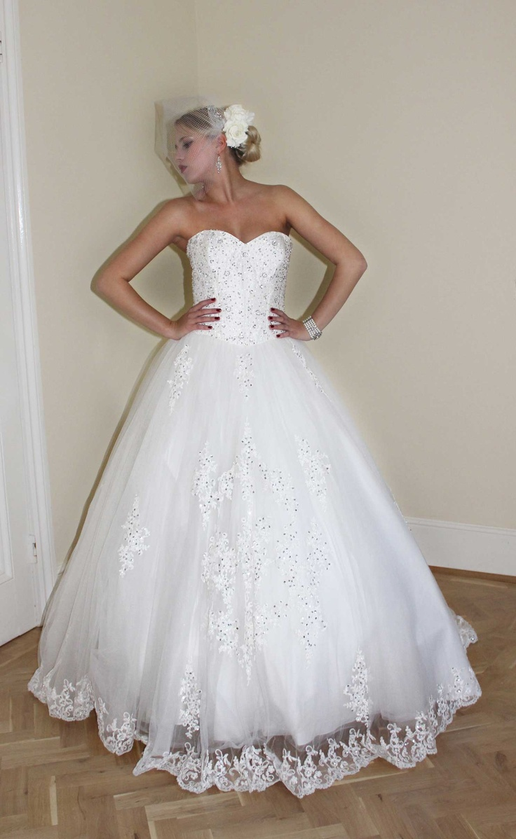 Style - Princess lace.   To book an appointment, please feel free to contact us at: info@newbeginningslondon.co.uk. Alternatively, you can phone us on: 01277 229 388.