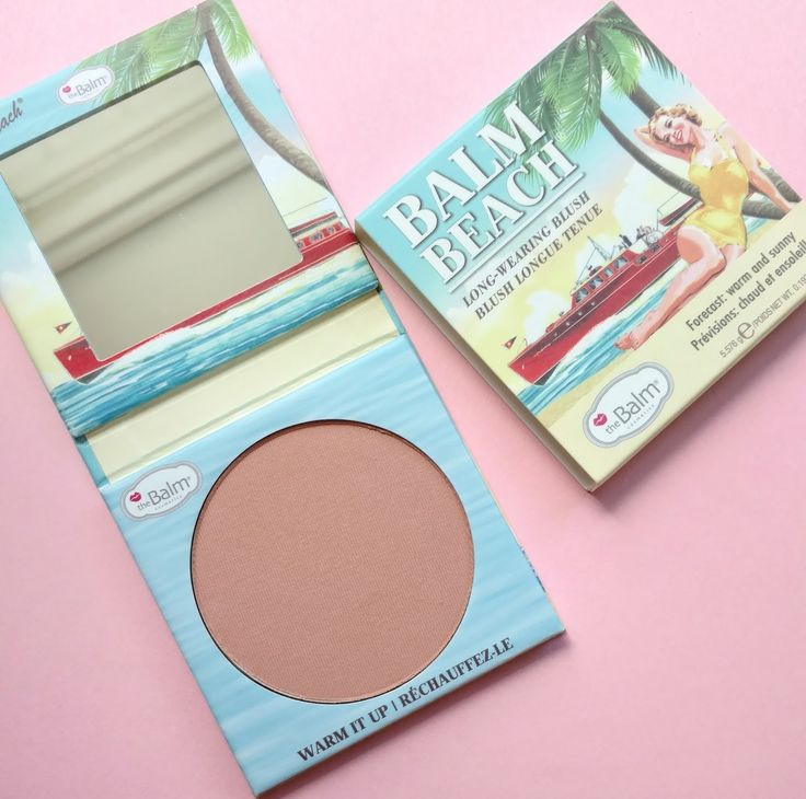 The Balm Balm Beach Long-Wearing Blush Review & Swatches | The Budget Beauty Blog