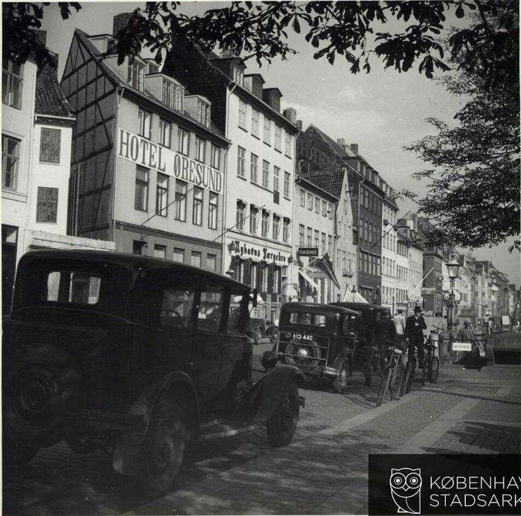 Nyhavn med Hotel Øresund i 1938