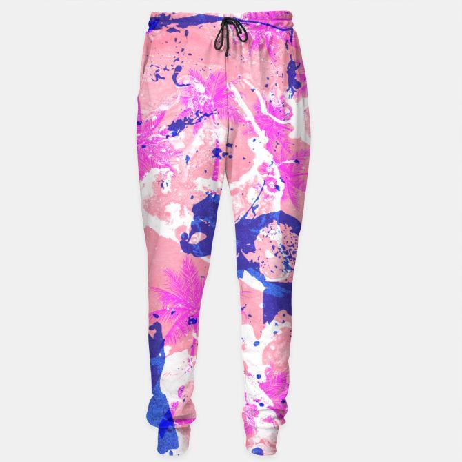 Tropical Marble Pantalones de chándal