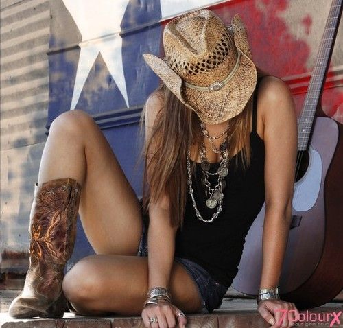 these boots are gonna walk all over you cool cowboy hat | all about girls stuff