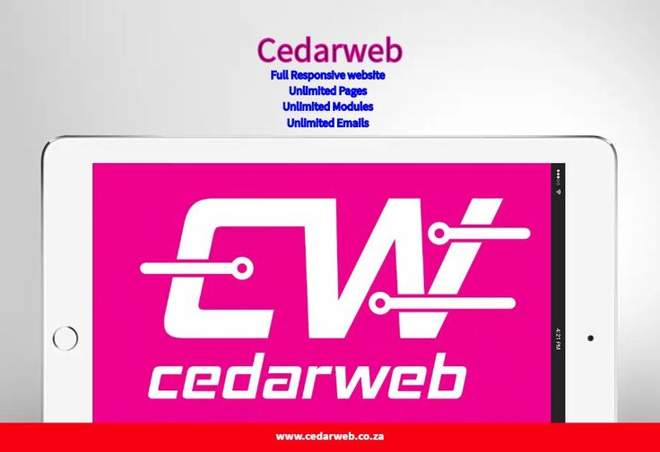 Get your fully responsive website Design absolutely #free, for more info call now 071 141 2760 or email us info@cedarweb.co.za
