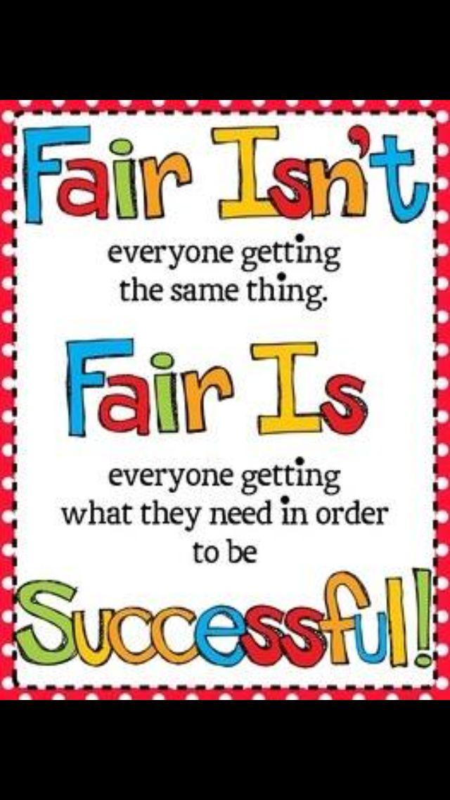 Fair is....