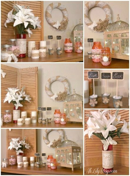 Easy diy home decor with david tutera casual elegance for Pinterest crafts for home decor