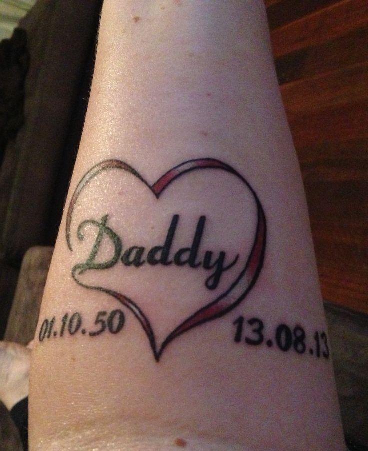 25+ Best Ideas About Dad Memorial Tattoos On Pinterest