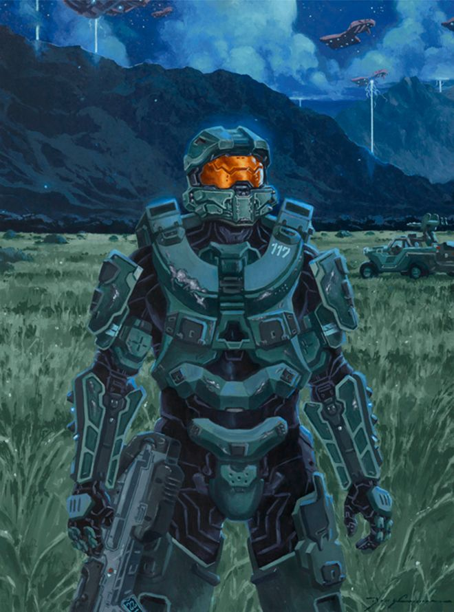 The Master Chief, by Doug Cowan