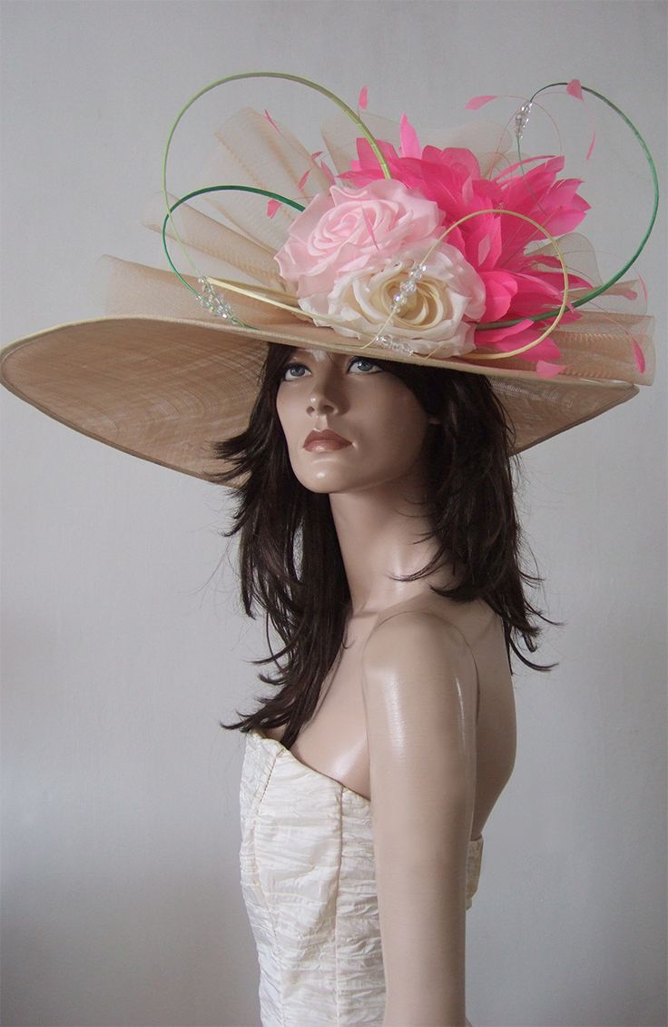 Massive Picture Hat from Nataliya Tutus for Hire at www.dress-2-impress.com for Royal Ascot, Epsom, Grand National, Mother of the Bride or other events. One of huge selection of designer hats available. The only Hat Hire at Royal Ascot Races. Designer Millinery. Amazing Big Ascot Hats. Ascot Ladies Day Hats. Hat Rental. #bighats #designerhats #royalascot #ascothats #royalascothats #millinery #derbyhats #fashion #fashionista