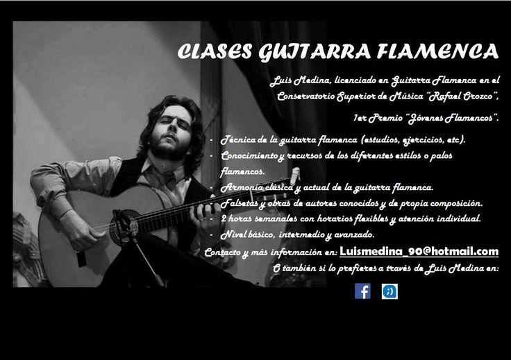 CLASES DE GUITARRA Luis Medina Fundación Guitarra Flamenca www.fundacionguitarraflamenca.com