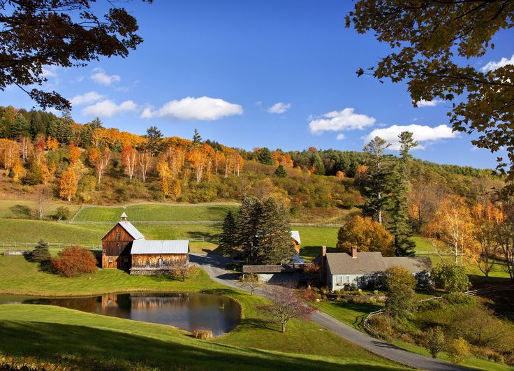 Nearby Woodstock, Vermont also ranks on Thrillist's Best Small Towns in America. Check it out on your next stay.