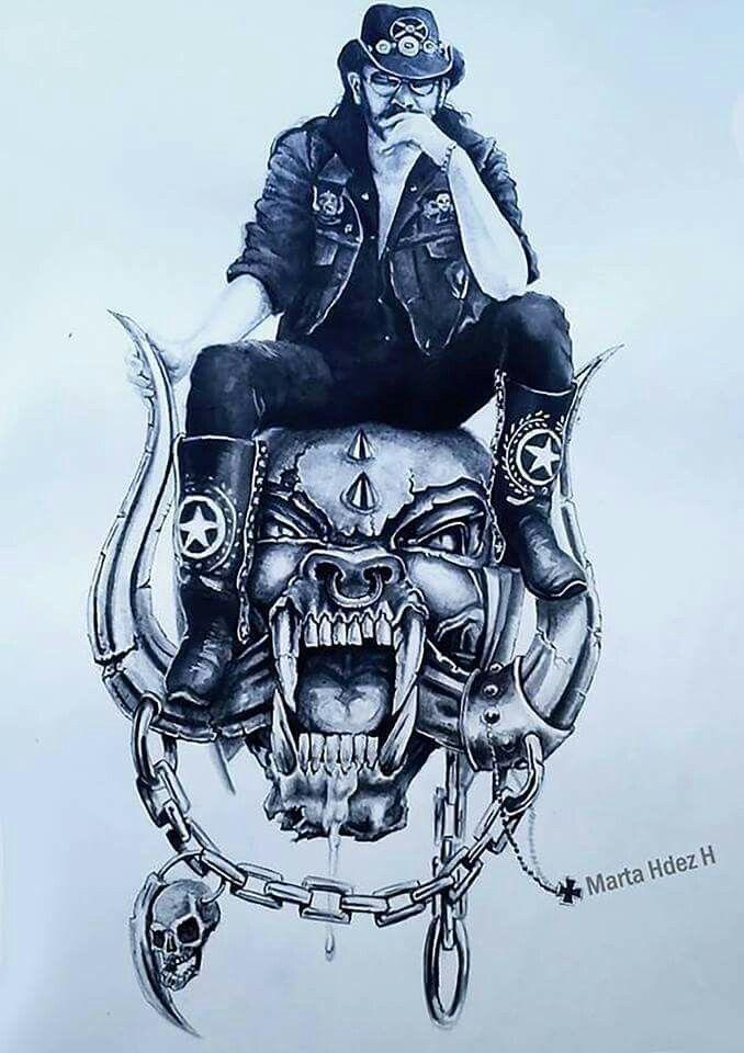 e279727003428 Pin by James Metzger on motorhead | Lemmy motorhead, Heavy metal tattoo,  Heavy metal rock