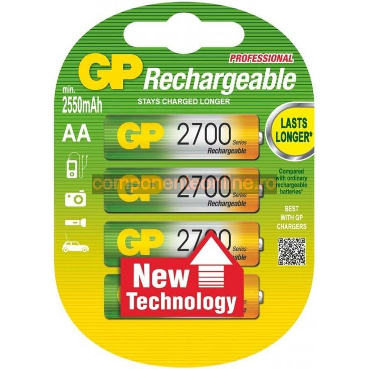 Acumulator R6, AA, 2700mAh, GP - 201344