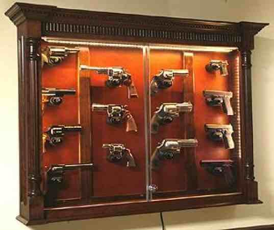 Gun Display Case Plans Woodworking Projects Plans