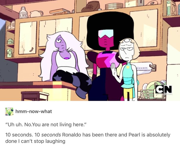 I'm sure their thinking of the time he kidnapped Steven.