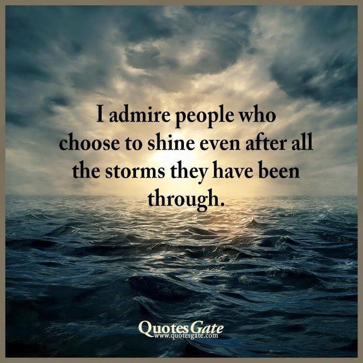 I so do admire these people! *including myself