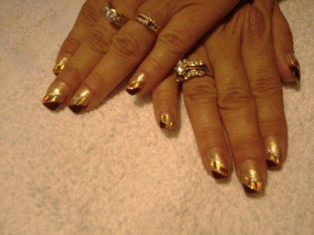 Foil Nail Art - Foil Nail Art Designs - Foil Nail Art Pics to find foil nail art designs,foil nail art pics,foil nail art designs @ http://heartjohn.com/