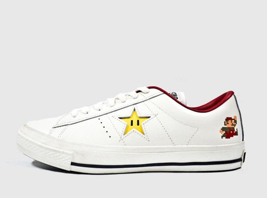 The Converse One Star Super Mario Bros. OX from Japan will release March 2012! w00t!
