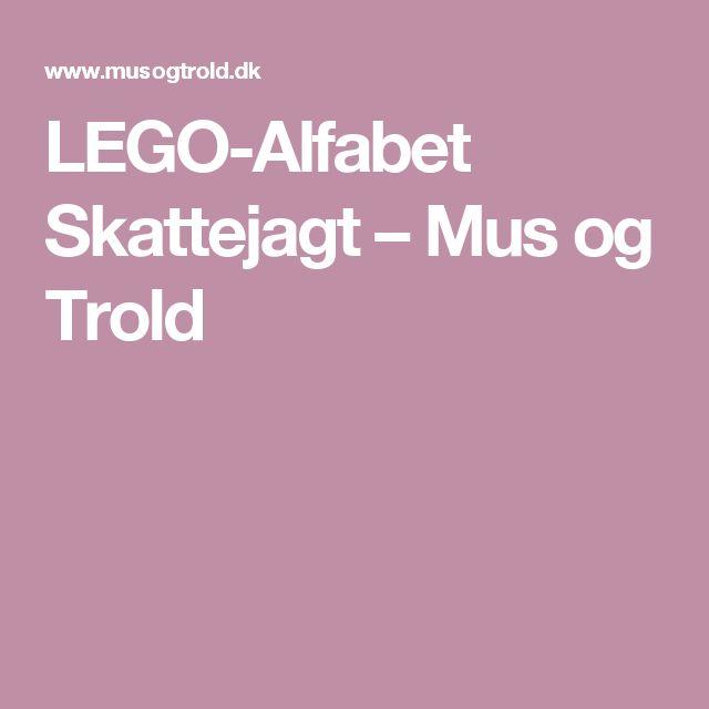 LEGO-Alfabet Skattejagt – Mus og Trold