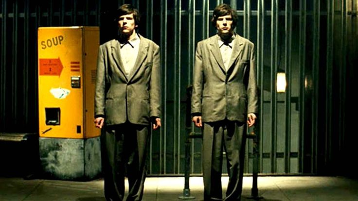 THE DOUBLE   REVIEW & GIVEAWAY http://saltypopcorn.com.au/reviews/the-double/ THE DOUBLE is my fave mind-f*ck movie of the year and it is now out on DVD and Blu Ray and thanks to our fantastic friends at Madman Films we have copies up for grabs on Blu Ray - suss the review out and find out how to win at Salty now!