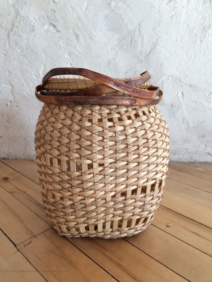 Basket Weaving With Reeds : Images about basket weaving on art